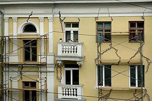 Ремонт протечек вентилируемых фасадов
