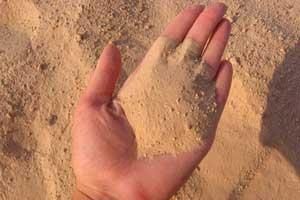 Использование песка для бетонных работ