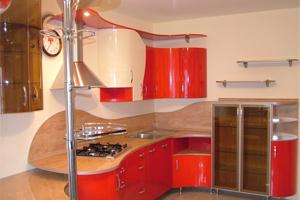 При планировке кухни необходимо