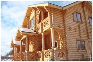 Деревянный дом - современное решение