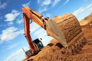 Аренда строительной техники - экскаваторы