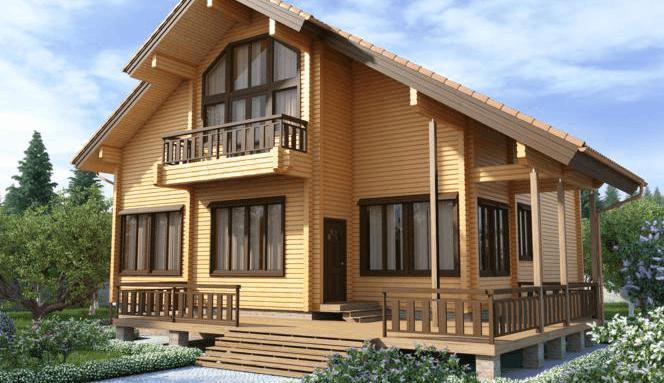 Новшества в строительстве деревянных домов