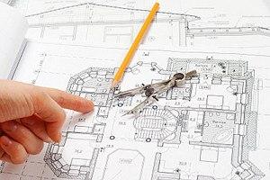 Вынос проектных точек с бумаги на местность
