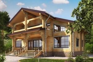 Деревянные дома проекты из брус